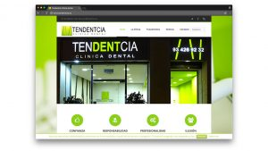 Diseño web centro médico dental Tendentcia de Barcelona