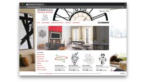 Diseño tienda online decoracion Arti e Mestieri Barcelona