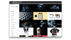Diseño web de fotografía Red Light Studio Barcelona