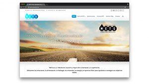 Diseño web para gimnasio Metsclub Barcelona