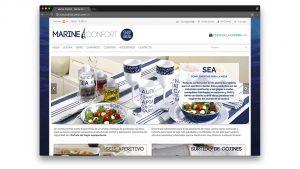Diseño tienda online accesorios náuticos Marine Confort