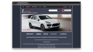 Diseño tienda online de coches Air Suspension Import en Barcelona