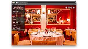 Diseño web restaurante St Remy en Barcelona