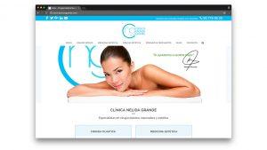 Diseño web cirugía estética Barcelona Doctora Grande