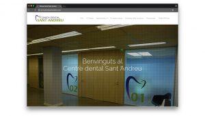 Diseño web dentista en Sant Andreu Barcelona