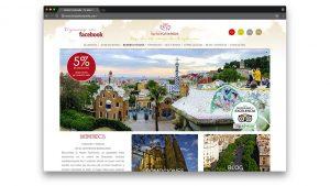 Diseño web Hostal Fontanella en Barcelona
