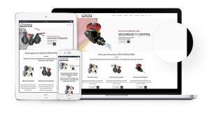 Programación diseño web industrial Barcelona